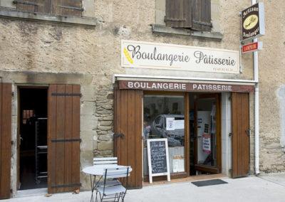 Vue boulangerie Saint-Papoul