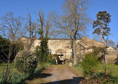 Vue château Saint-Papoul