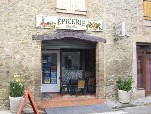 Façade épicerie Saint-Papoul