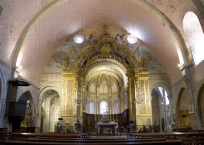 Vue hôtel abbaye Saint-Papoul